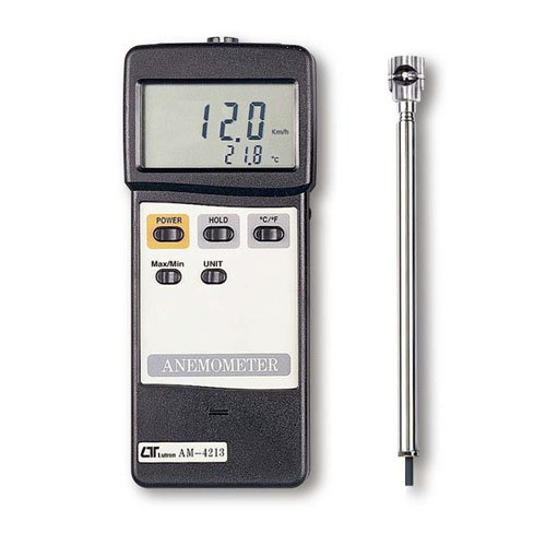 Lutron AM4213 Vane Air Flow Anemometer