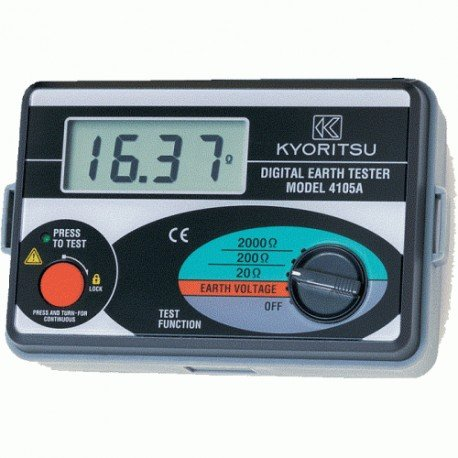 Kyoritsu 4105a Digital Earth Tester