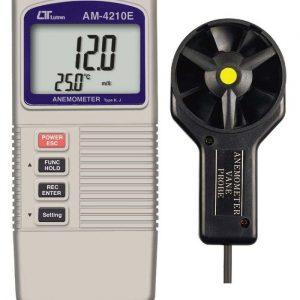 Lutron AM 4210E Type K-J Temperature Anemometer