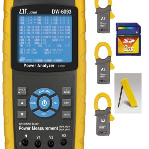 Lutron DW 6093 3 Phase Power Analyzer