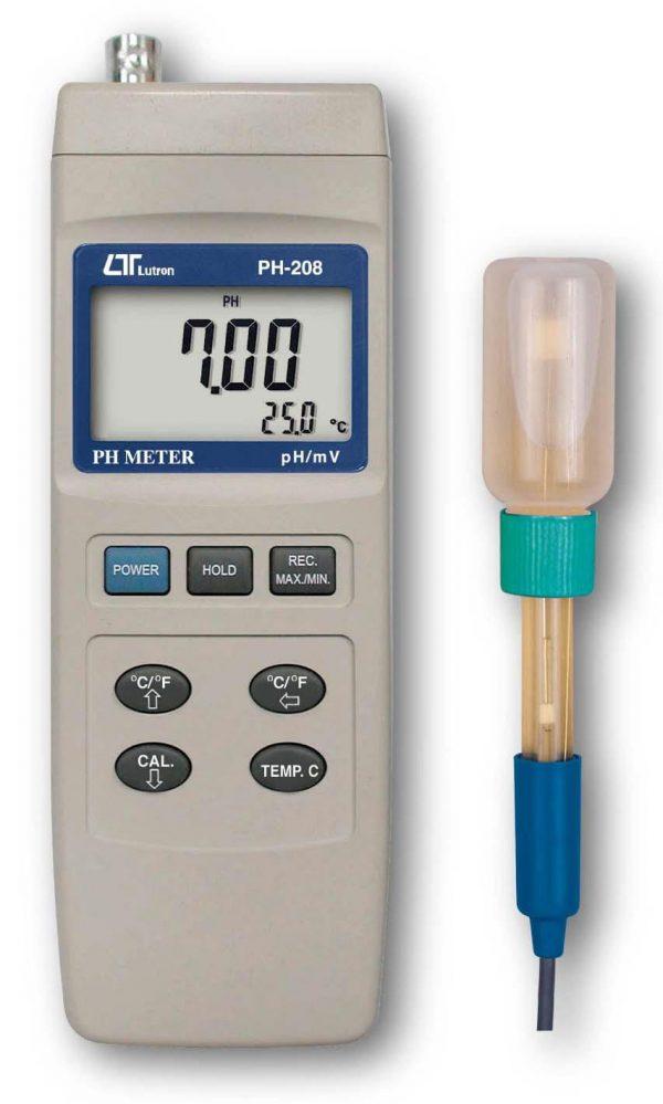 Lutron pH 208+pe 03 pH Meter