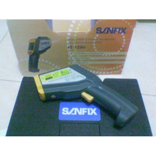 Sanfix IT-1500 Infrared Thermometer 2 laser