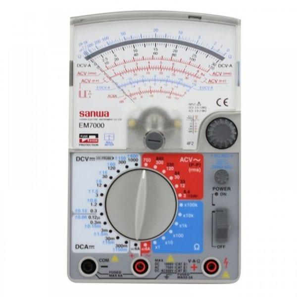 Sanwa EM 7000 Analog Multitester-Multimeter