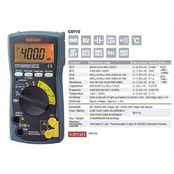 Sanwa CD 772 Digital Multimeter
