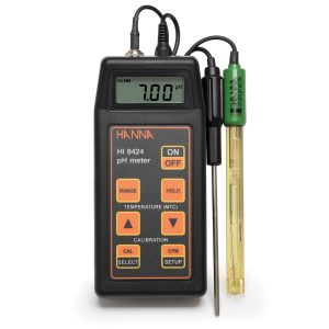 Hanna HI 8424: Portable pH/mV Meter