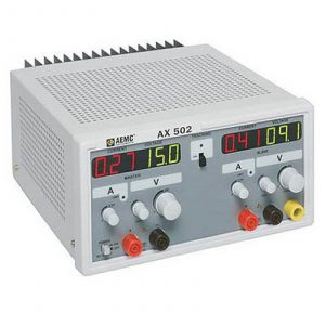 AEMC AX502 (2130.06) Power Supply (Dual Output, 0-25A, 0-30VDC)