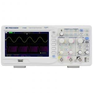BK Precision 2190E 100 MHz, 1 GSa/S, 2-Ch LAN Digital Storage Oscilloscope
