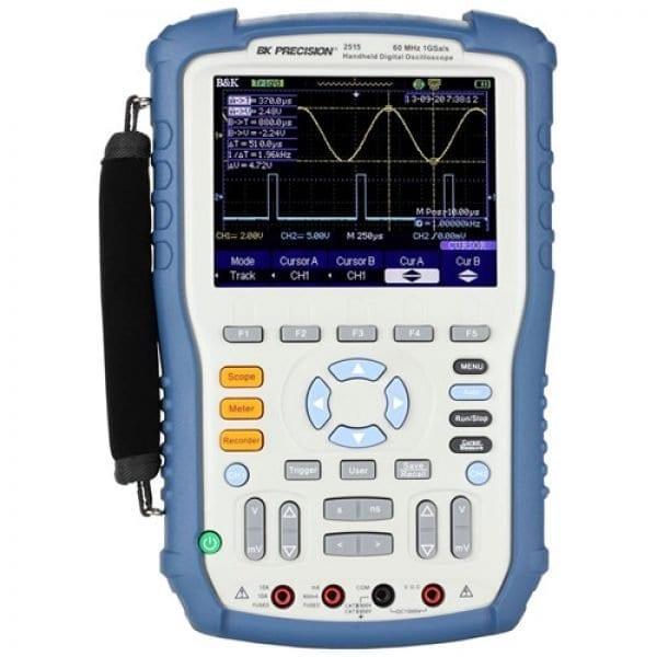 BK Precision 2512 100 MHz, 1 GSa/S Handheld Digital Storage Oscilloscope