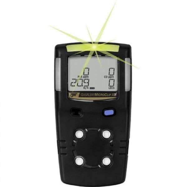 BW Technologies GasAlert MicroClip X3 [MCX3-000M-B-NA] 1-Gas Detector , Carbon Monoxide (CO)