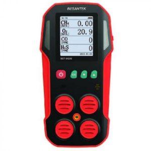 Besantek BST-MG07 Multi-Gas Detector For CH4 / LEL, O2, H2S, CO