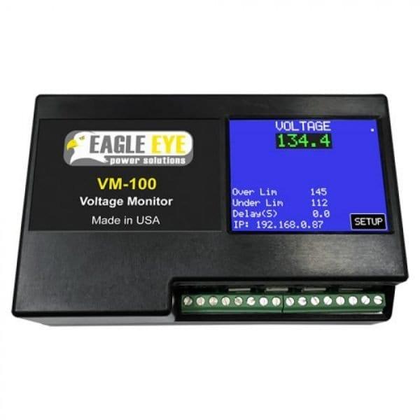 Eagle Eye VM-100-24V Battery Voltage Monitor For 24V DC Applications