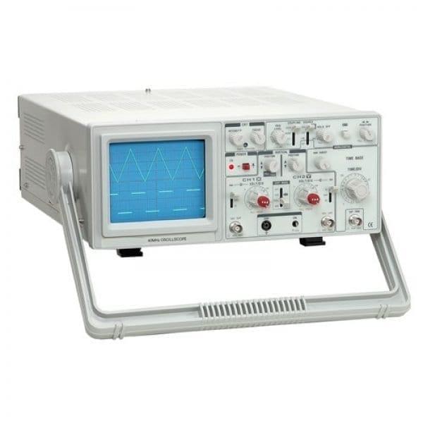Elenco S-1340 40MHz, 2-Channel, Analog Oscilloscope