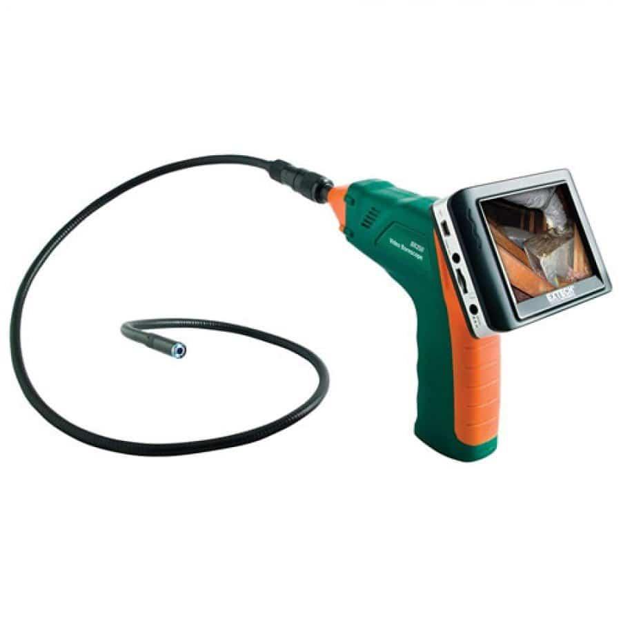 Extech BR250-4 Flexible Video Borescope (4.5mm Diameter/1m Cable)