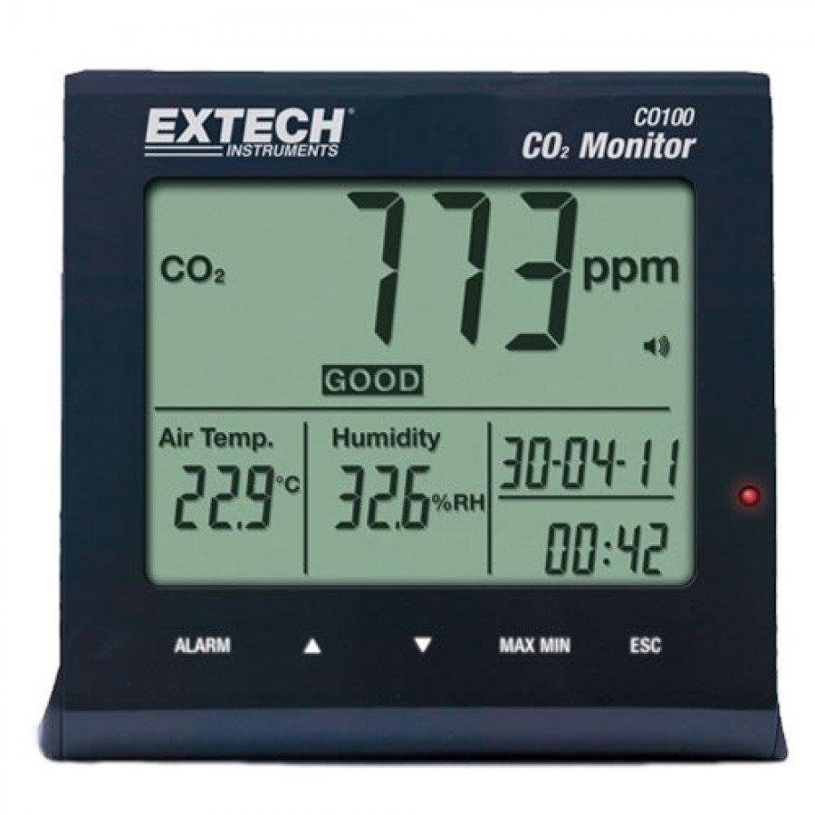 Extech CO100 Carbon Dioxide (CO2] Monitor
