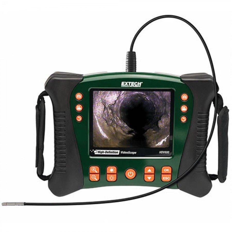 Extech HDV610 High Definition VideoScope (5.5mm Diameter/1m Flexible Cable)