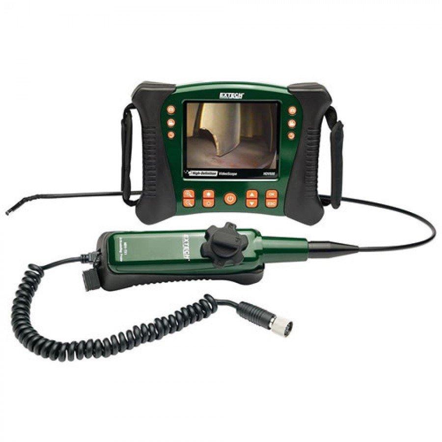 Extech HDV640 High Definition Articulating VideoScope Kit (6mm Diameter/1m Semi-Rigid Cable)