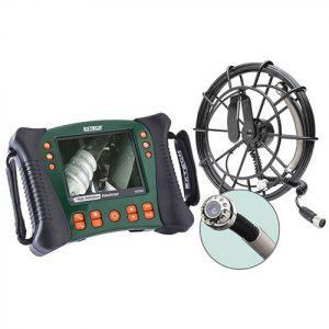 Extech HDV650-30G Plumbing VideoScope Kit (25mm Camera Head W/ 30m Fiberglass Cable)