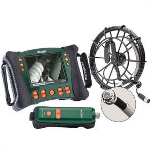 Extech HDV650W-10G Wireless Plumbing VideoScope Kit (25mm Camera Head W/ 10m Fiberglass Cable)