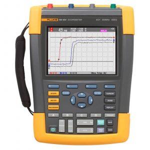 Fluke 190-502/AM/S 500 MHz, 2-Ch, 5 GS/S ScopeMeter Portable Oscilloscope