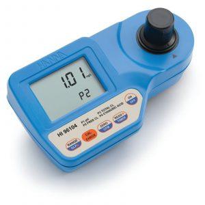 HANNA Instruments HI96104 PH, Free Chlorine And Total Chlorine, And Cyanuric Acid Portable Photometer