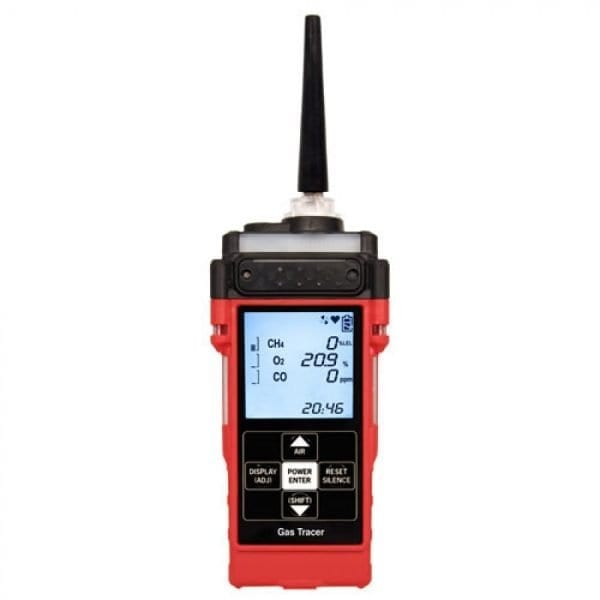 RKI Instruments Gas Tracer Confined Space Monitor And Low Ppm Leak Detector, 3 Gas Sensor
