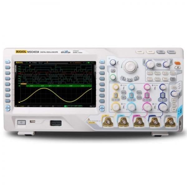 Rigol MSO4034 350MHz 4-Channel Mixed Signal Oscilloscope