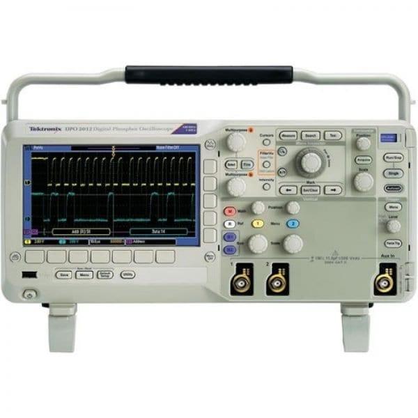 Tektronix DPO2012B 100 MHz, 2-Channel, 1GS/S Digital Phosphor Oscilloscope