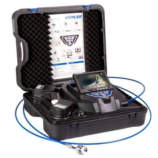 Wohler VIS 350 [6352] Inspection Service Camera W/ Push Rod And Detachable Head
