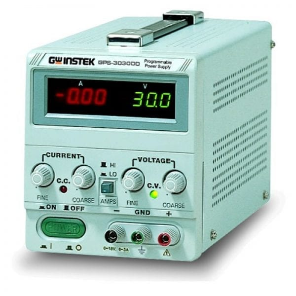 Instek GPS-3030DD 90W Linear D.C. Power Supply