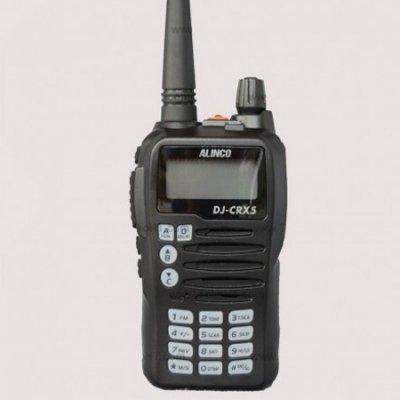 Alinco DJ CRX5 Dual Band VHF UHF