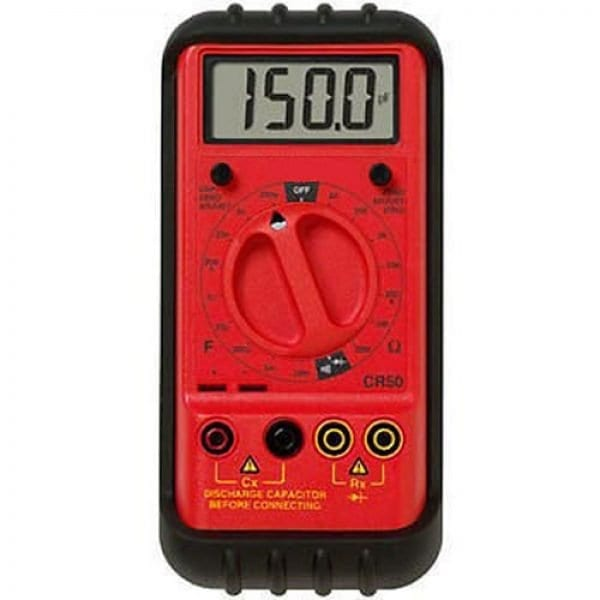 Amprobe CR50A Capacitance Inductance And Resistance Tester