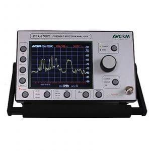 Avcom PSA-2500C 5 MHz – 2500 MHz Spectrum Analyzer