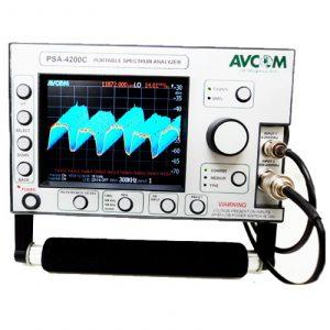 Avcom PSA-4200C 5 MHz – 4200 MHz Portable Spectrum Analyzer With Display