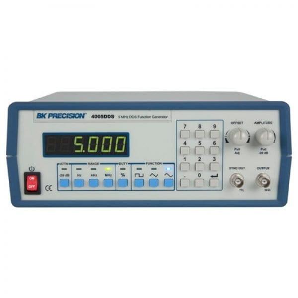 BK Precision 4005DDS 5 MHz 4 Digit Display DDS Function Generator