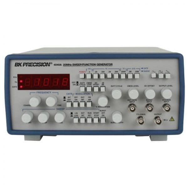 BK Precision 4040A 20 MHz Sweep Function Generator W/ Frequency Counter