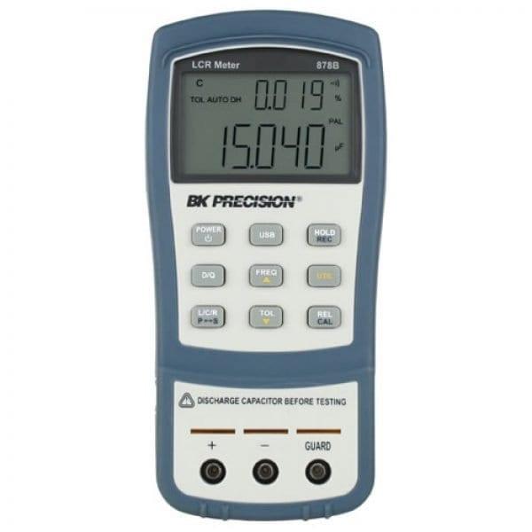 BK Precision 878B 40,000 Count Dual Display Handheld LCR Meter