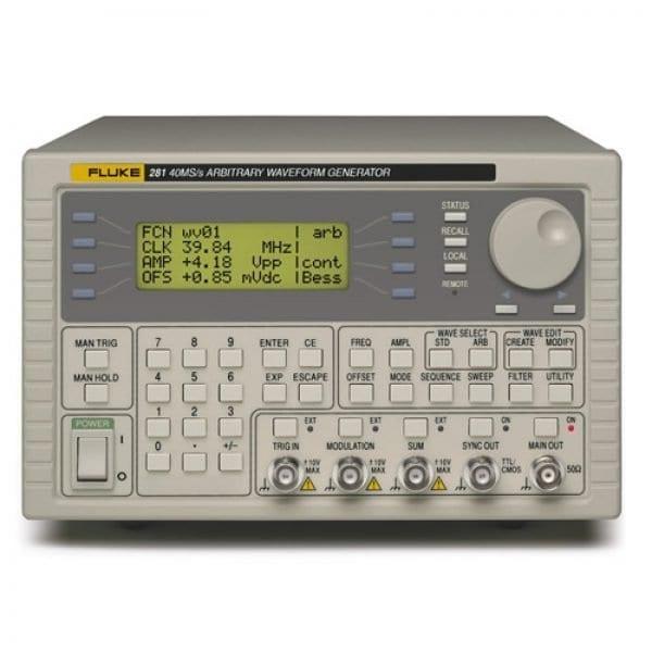 Fluke 280 Series [281-220V] Single-Channel 40 MS/S Arbitrary Waveform Generator