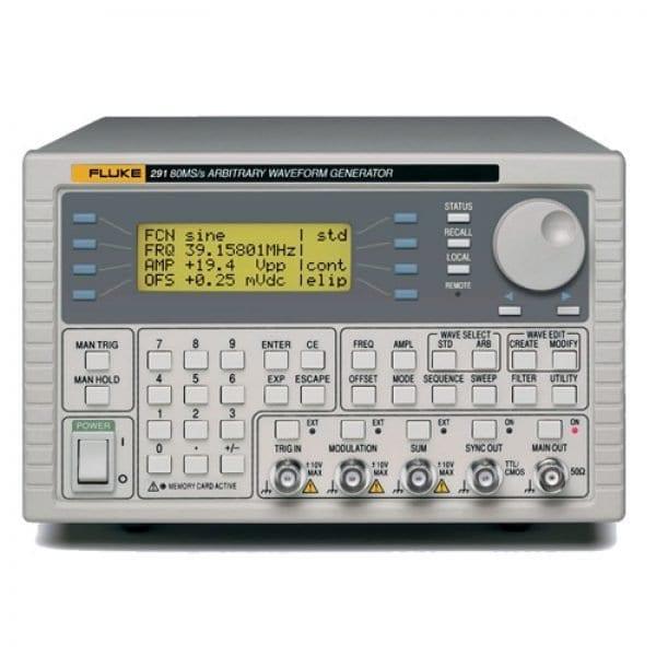 Fluke 290 Series [292-220V] Two-Channel 100 MS/S Arbitrary Waveform Generator