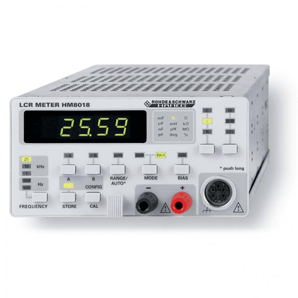 HAMEG HM8018 LCR Meter Module For The HM8001-2 Mainframe