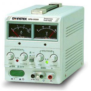 Instek GPS-3030 90W Linear D.C. Power Supply, Analog Display