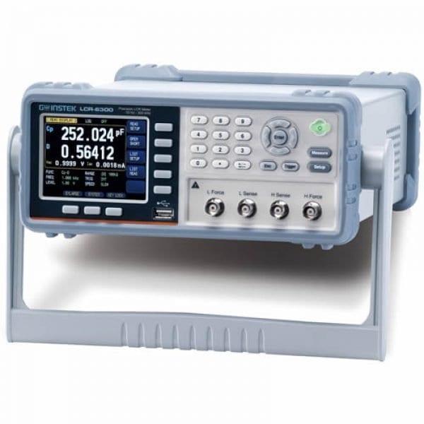 Instek LCR-6000 [LCR-6200] 10Hz ~ 200kHz High Precision LCR Meter