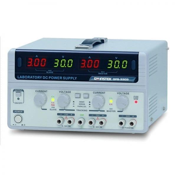 Instek GPS-3303 195W, 3-Channel, Linear D.C. Power Supply