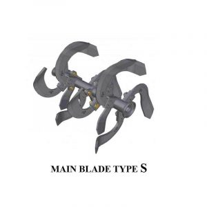 QUICK Main Blade Type S Cultivator Cakar Baja