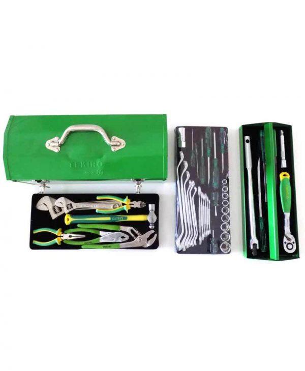 TEKIRO 45pcs Automotive Tool Set