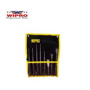 WIPRO BPC860-08S Betel Punch & Chisel Set (8Pcs)