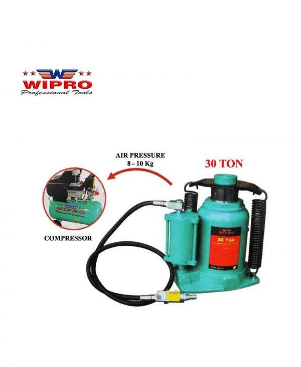 WIPRO DBH-30 Dongkrak Botol 30 Ton (Air Pressure)