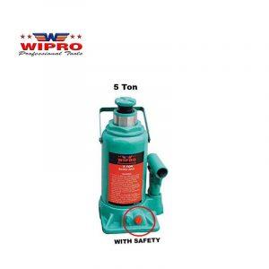 WIPRO T90504 Dongkrak Botol 5 Ton (With Safety)