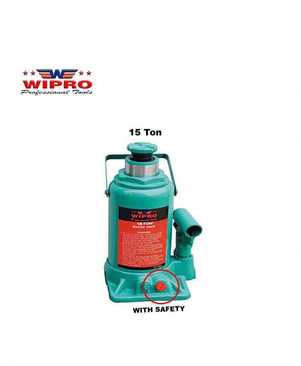 WIPRO T91504 Dongkrak Botol 15 Ton (With Safety)