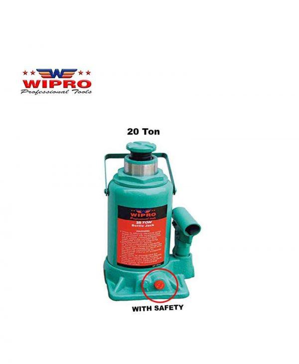 WIPRO T92004 Dongkrak Botol 20 Ton (With Safety)