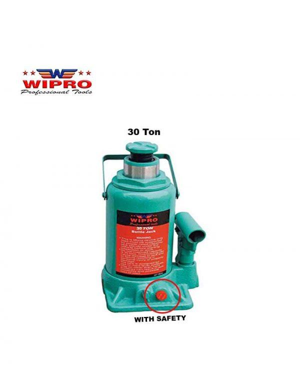 WIPRO T93007 Dongkrak Botol 30 Ton (With Safety)